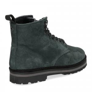Panchic Ankle boot nubuk lining shearling deep-5