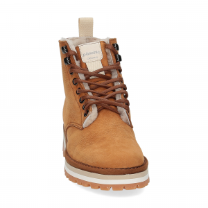 Panchic Ankle boot nubuk lining shearling -1