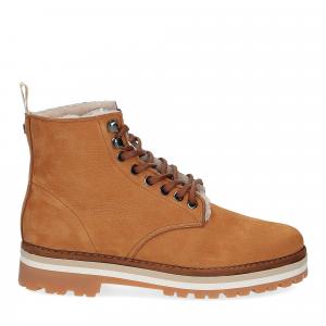 Panchic Ankle boot nubuk lining shearling -2