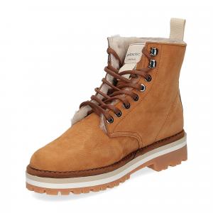 Panchic Ankle boot nubuk lining shearling -4