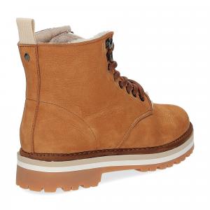 Panchic Ankle boot nubuk lining shearling -5
