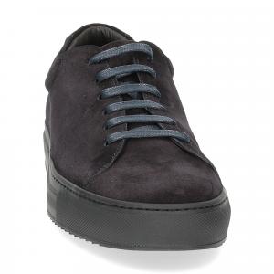 Griffi's sneaker 732 camoscio blu-3
