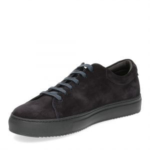 Griffi's sneaker 732 camoscio blu-4