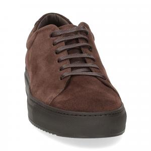 Griffi's sneaker 732 camoscio marrone-3