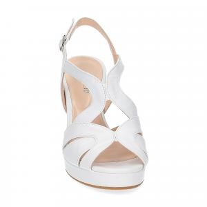 Il Laccio sandalo in pelle bianca-3