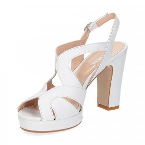 Il Laccio sandalo in pelle bianca-4