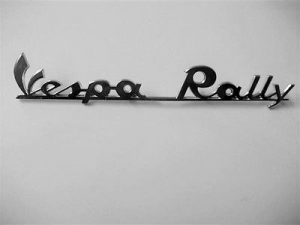 5742-P TARGHETTA POSTERIORE VESPA RALLY 180 PIAGGIO