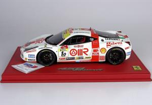 Ferrari 458 Challenge Monza 2011 Team Rosso Corsa White Ltd 100 Pcs 1/18