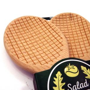 Posate per insalata racchette da tennis