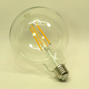 Lampada globo trasparente led 12w luce calda