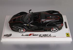 Ferrari LaFerrari Aperta 2016 New Black Daytona 1/18