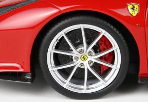 Ferrari 488 Pista 2018  Rosso Corsa Met With Case 1/18
