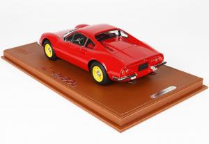 Ferrari Dino 246 GT TIPO 607L Year 1969 Yellow Rim 1/18