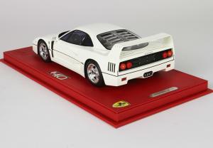 Ferrari F40 1987 Bianco 1/18