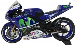 Valentino Rossi Movistar Yamaha Winner Silverstone 2015 Limited Edition 1008 Pcs Scala 1/12