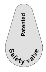 Soffione doccia d.200