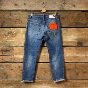 Jeans Department 5 Corkey con Usura sul Retro Blu