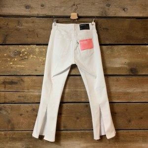 Pantalone Department 5 Dutens con Spacco Bianco