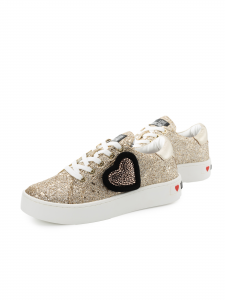 Sneakers Love Moschino JA15073G1AIJ0900 Platino