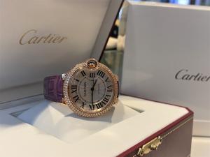 Orologio secondo polso Cartier Ballon Bleu
