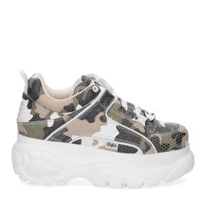 Buffalo London Sneaker 1339 CaMouflage-2