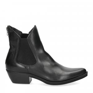 Felmini texano calf black-2