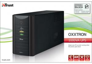 Trust Oxxtron gruppo di continuità (UPS) 1000 VA 3 presa(e) AC