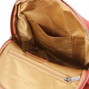 Tuscany Leather TL141905 TL Bag - Zaino in pelle morbida Brandy