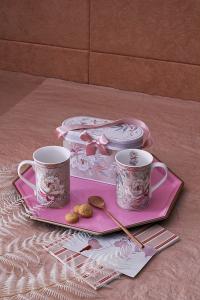 Tognana - CONF. 2 MUG - NEW  MILK & COFFE' - PEONIA
