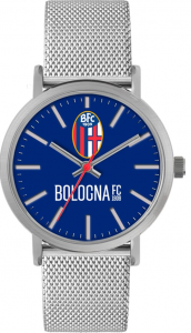 OROLOGIO TIDY BOLOGNA MESH BIANCO (Unisex) Bologna Fc