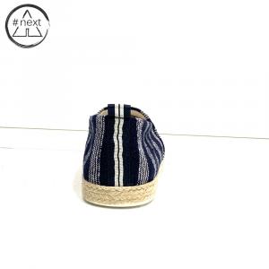 Fefè - Espadrillas cotone - Blu righe