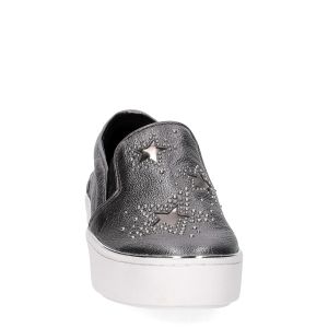 Michael KorsTyson Slip On Metallic Star leather Gun Metal-3