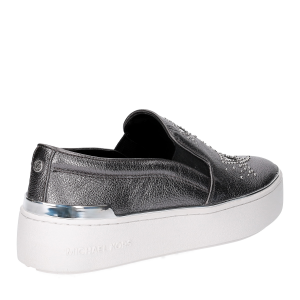 Michael KorsTyson Slip On Metallic Star leather Gun Metal-5