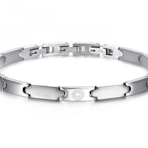 Luca Barra - bracciale uomo acciaio
