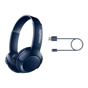 Philips Cuffie sovrauricolari wireless con microfono SHB3075BL/00