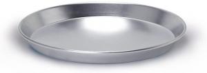 Teglia conica bassa in alluminio cm.3h diam.28