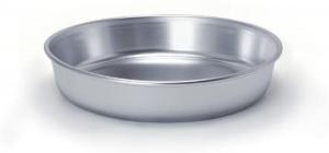 Tortiera conica alta in alluminio cm.6,5h diam.30
