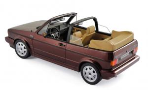 Volkswagen Golf Cabriolet Classic Line 1992 Red Metallic 1/18