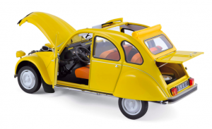 Citroën 2CV 6 Club 1979 Mimosa Yellow 1/18
