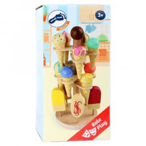 Portagelato giocattolo in legno