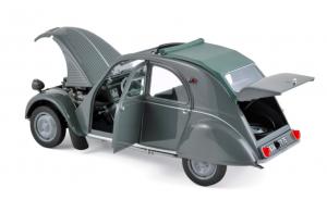 Citroën 2CV AZL Malle Bombée 1957 Grey 1/18