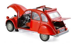 Citroën 2CV 6 1972 Rio Red 1/18