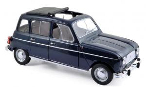 Renault 4 1965 Copenaghen Blue 1/18