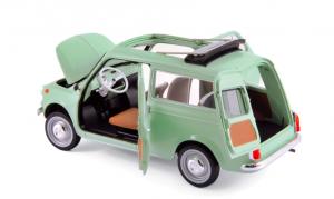 Fiat 500 Giardiniera 1962 Light Green 1/18