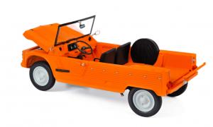 Citroën Méhari 4x2 1983 Orange Kirghiz 1/18