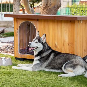 Baita Cuccia per cani  in Legno di pino nordico Ferplast Promozione