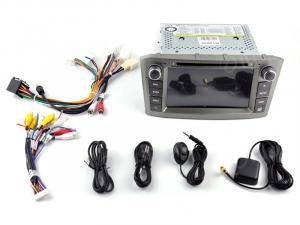ANDROID 10 autoradio 2 DIN navigatore per Toyota Avensis 2005-2008 GPS DVD USB WI-FI Bluetooth Mirrorlink