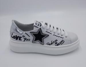 Sneakers stella bocca strass GIO+