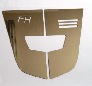 VOLVO Copertura laterale mascherina con scritta FH