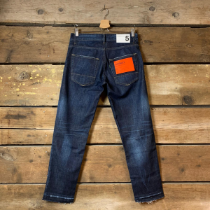 Jeans Uomo Department 5 Corkey Blu Scuro